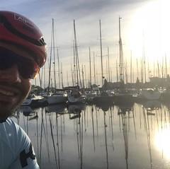 Good morning! #Alpecincycling #bicyclingnl #sunrise #mycanyon #training