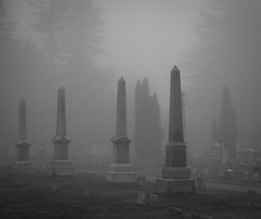 Cemetery_DSC3016-Edit_SCY (syoumans07) Tags: cemetery warrensburg grave fog d850 24120mm