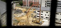 Construction Site (015sunny) Tags: constuction concrete pump truck cement
