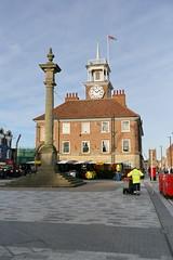 Stockton-on-Tees, Town Hall (Clanger's England) Tags: countydurham england stocktonontees wwwenglishtownsnet townhall gradeiistarlistedbuilding lbs59453 ebb ebi