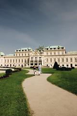 Vienna - Belvedere (matteoguidetti) Tags: vienne wien belvedere architecture urbanphotography colors austria europa architettura villa historic people