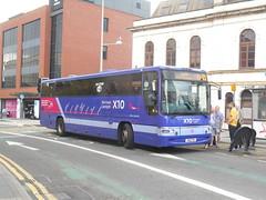 First Cymru 'Afon Llwchwr' 20323 (Welsh Bus 18) Tags: first cymru volvo b7r63 plaxton profile afonllwchwr 20323 s10ftr cardiff yn57bvw river loughor 19030