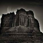On Rising Early (Black & White, Arches National Park) thumbnail
