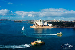 Sydney Opera House (Theo Crazzolara) Tags: sydney australia newsouthwales traveling travel backpacking journey opera house sydneyoperahouse operahouse city view aerial river sightseeing highlight