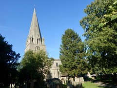 Edwinstowe Church Spire (Dugswell2) Tags: intersectedstation edwinstowechurchspire stmaryschurch edwinstowe