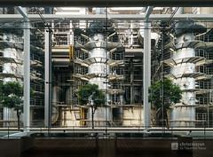 Indoor of Hiroshima Environment Bureau, Naka Incineration Plant (広島市環境局 中工場) (christinayan01 (busy)) Tags: japan hiroshima architecture indoor
