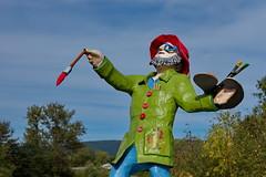 Inspiration (Luc Marc) Tags: 2014 ansesaintjean art couleur peintre personnage saguenay sculpture québec gillesmclean