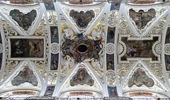 vakmanschap is meesterschap . (roberke) Tags: church kerk plafond schilderingen engelen angels old oud architecture architectuur indoor polen ceiling paintings symmetrisch heiligen saints