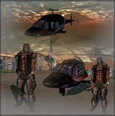 Pilot Flow (ximajica) Tags: virtualreality virtualrealityworld virtual vamplove secondlife sl pixels pixel neko daddydom boricua pilot aviator aviation avi avatar