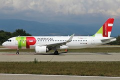TAP Air Portugal. CS-TVA. Airbus A320-251N. (Themarcogoon49) Tags: tap airbus a320 neo aircraft planespotting gva lsgg cointrin airport switzerland avgeek avion aviation