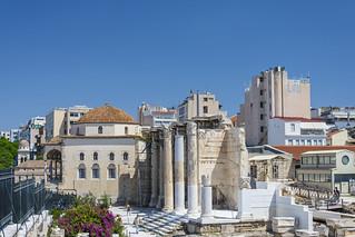 Entrance in the Roman Agora - Athens, Greece