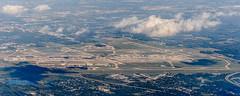 Detroit DTW Airport (ruifo) Tags: nikon d700 nikkor afs 24120mm f4g ed vr aerial aéria aeria airport aeroporto aeropuerto us usa aviation aviacion aviación aviacao aviação runway pista runways pistas detroit metropolitan wayne county international mi michigan midwest north america kdtw