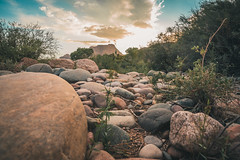 Sunset on the Salt River (davebentleyphotography) Tags: sunset phond arizona saltriver davebentleyphotography landscape reflections water rocks canon 2018 summerinarizona