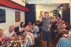 Etto restaurant, Dublin (-liyen-) Tags: activeassignmentweekly restaurant cafe people candid ea†ing etto dublin ireland busy fujixt2 bestofweek1 bestofweek2 bestofweek3