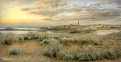 The wall (Jean-Michel Priaux) Tags: saintmalo bretagne france city village see wall mer isle sunset sky paysage savage patrimony priaux nature hdr