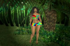 RYL Colorato Glossy Summer Up Outfit (melyna.foxclaw) Tags: secondlife secondlifedesign secondlifelandscaping virtualpeople virtualfashion virtualworlds soul bootysbeauty cae cerridwenscauldron colorato essenz hashtagevent iheartslfeed ladies phoenixhair ryl skin fameshed fameshedgo