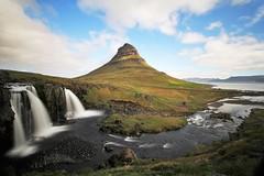 mt. kirkjufell (lrgbr) Tags: kirkjufell iceland happy love morning waterfall sun mountain