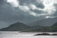 Impressive view on a loch