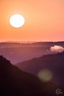 Sunrise sur la Vallée du Lot