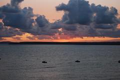 Sunrise over the bay (Halliwell_Michael ## Offline mostlyl ##) Tags: cornwall nikond40x 2018 sunrise sunrisesunsets stives atlanticocean cloud clouds