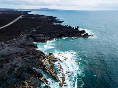 Oceanfront made of stoned lava / Oceanfront aus Steinlava (wuestenigel) Tags: insel landscape landschaft küste cliff felsen aerial droneklippe ozean lava wellen weis rocks ozeanfront ocean lanzarote island spain oceanfront travel waves schwarz drohne black reisen antenne coast spanien white provinzlaspalmas kanarischeinseln es seashore strand water wasser noperson keineperson sea meer reise beach seascape seelandschaft rock sky himmel scenic szenisch surf surfen outdoors drausen vacation ferien sand summer sommer bay bucht nature natur