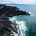 Oceanfront made of stoned lava / Oceanfront aus Steinlava