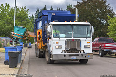 Peterbilt 320 - Labrie AlleyGator AGR Garbage Truck (Thrash 'N' Trash Prodcutions) Tags: garbage trash refuse truck recycle recycling trucks labrie alleygator righthand agr automizer asl automated side loader peterbilt 320 paccar rubbish sanitation disposal waste collection vehicle blue wasteconnections vancouver washington municipal solidwaste yard debris composting compost bin cart toter container dumpster trashmonkey22