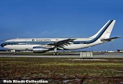 Eastern Airlines A300B4-103 N208EA (planepixbyrob) Tags: eastern easternairlines airbus a300 n208ea fll fortlauderdale retro kodachrome