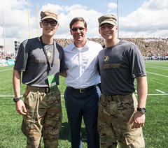SecArmy Attends USMA Black Knights Game vs. Hawaii (Secretary of the Army) Tags: ltgeneralwilliams secarmy usma westpoint football game spritdecorps
