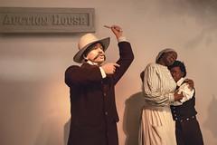 Slave Auction Diorama (cobalt123) Tags: america harrisburg june nationalcivilwarmuseum pennsylvania auction bidding exhibit historical history museum seller setting slavery slaves
