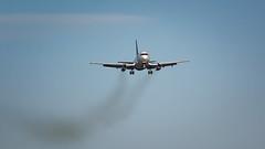 Nolinor Smoke Trail (Ben_Senior) Tags: ottawa ontario canada ottawamcdonaldcartierairport ottawainternationalairport ottawaairport yow cyow airline airliner airplane plane aviation aircraft nikond7100 nikon d7100 bensenior planespotting boeing 737 b737 jet narrowbody 732 737200 b732 b737200 nolinor 737classic classicairliner classic turbojet jt8d cgnln