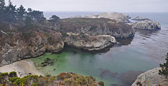 Point Lobos Beach (James Matuszak) Tags: carmelmosslanding carmel california pointlobos pointlobosstatepark beach emerald ocean water cliffs