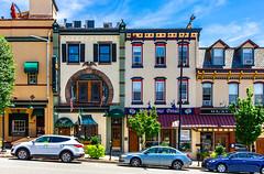 Fayette Street Buildings (Eridony (Instagram: eridony_prime)) Tags: conshohocken montgomerycounty pennsylvania borough smalltown downtown suburb suburbanphiladelphia metrophiladelphia