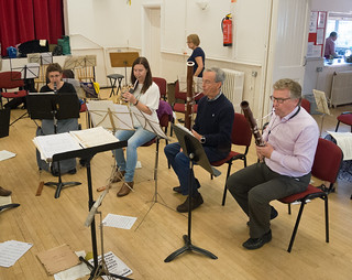 DSCN1380c Ealing Symphony Orchestra 25th August 2018. Leader Peter Nall, Conductor John Gibbons. Chorley Wood