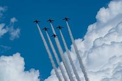 20180825 Blue Impulse 001 (dora9092) Tags: jasdfkawasakit4reddolphin 東松島夏まつり2018 jasdf航空自衛隊 blueimpulse ブルーインパルス