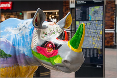 """Spike"" (Mabacam) Tags: 2018 london carnabystreet spike tusk thetuskrhinotrail rhino conservation sculpture ronniewood chriswestbrook artinstallation charity"