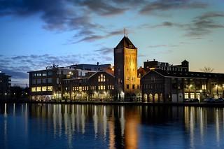 Verkade factory in Zaandam, the Netherlands