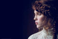 Must Become (valerio magini ph) Tags: red hair portrait woman young fashion head indoor natural lights