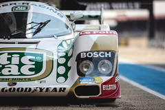 Porsche 962C (Antoine Dellenbach Photography) Tags: worldcars car race racing circuit france motorsport eos automotive automobiles automobile racecar sport course lightroom coche photography photographie vintage historic peterauto auto canon legend lemans lemansclassic 2018 5d 5d3 5dmarkiii lmc atmosphere porsche 962 962c tictac 70200 pitlane