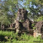 Prasat Preah Stung Temple, along the road to Preah Khan of Kampong Svay thumbnail