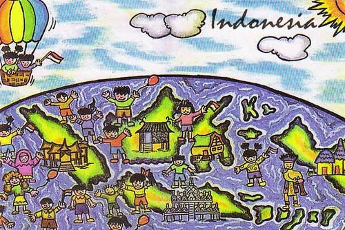 gambar peta indonesia cartoon a photo on flickriver gambar peta indonesia cartoon a photo