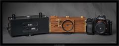 my nice pinhole collection (Dierk Topp) Tags: 6x12 realitysosubtle6×17 sonya7r analog cameras gear kameras pano panorama pinhole zeroimage612 zeroimage612d