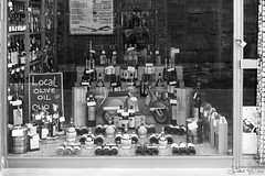Me, the wine and the Vespa (antoniomolitierno) Tags: vino vespa olio vetrina negozio autoscatto ritratto autoritratto strada wine wasp oil shop window selfie portrait selfportrait street casual lucca toscana tuscany italia italy