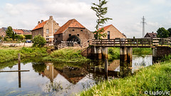 Reflet (Lцdо\/іс) Tags: reflection reflet reflexion netherlands lцdоіс paysbas holiday holland travel europe europa august 2018 moulin