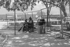 Waiting (bogstomper73) Tags: streetphotography leica dfw texas homeless fortworth