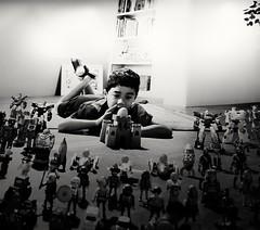 #Meeting (ariqkim) Tags: meeting blackandwhite toys boy skykim