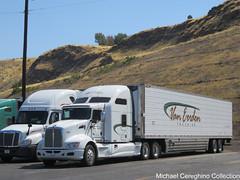 Van Erden Trucking Kenworth T660, Truck# 2851 (Michael Cereghino (Avsfan118)) Tags: van erden trucking kenworth kw t660 sleeper truck semi reefer refrigerated