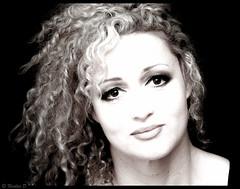 Les perles noires.... (Pilouchy) Tags: portrait monochrome femme lumiere free eyes regard emotion feelings blackandwhite woman hair yeux chemin vie life memories story