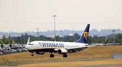 Ryanair EI-DPP J78A0846 (M0JRA) Tags: ryanair eidpp birmingham airpot airports bhx tower aircraft planes flying jets props runways landing rotate ils clouds sky people spottersr