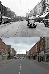 County Road, Walton, early 1950s and 2018 (Keithjones84) Tags: liverpool oldliverpool thenandnow rephotography